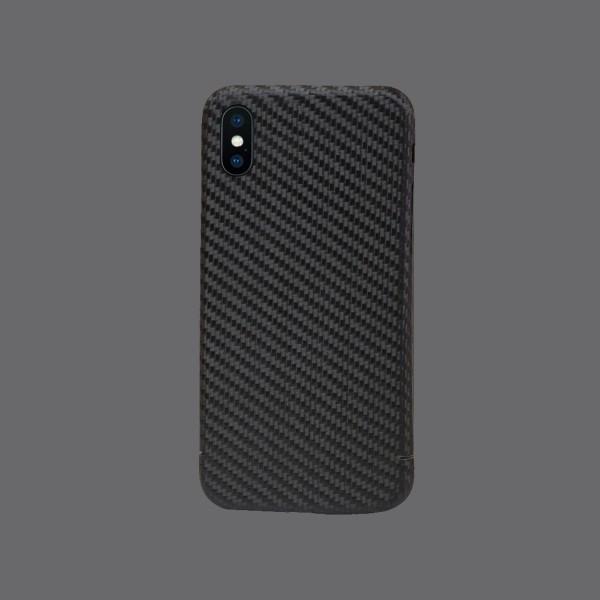iPhone X Schutzhülle aus echtem Carbon