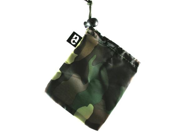 Wäschebeutel Reise Organizer Camouflage für Ordnung im Koffer oder Rucksack, 4er Pack