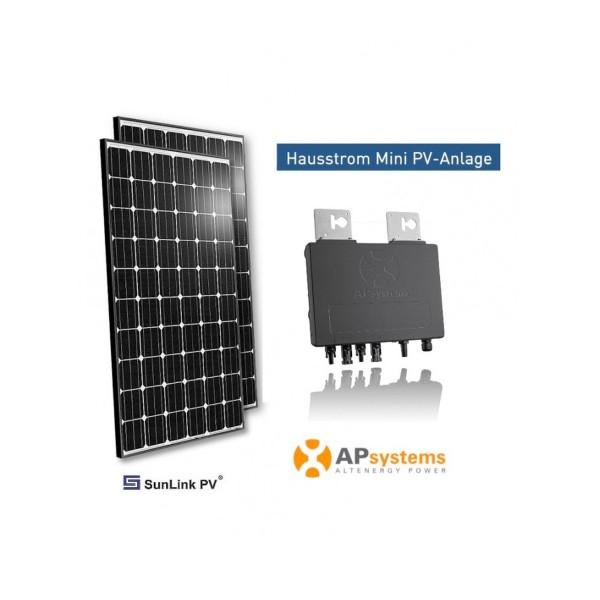 Mit dieser Mini PV-Anlage produzieren Sie ca. 560 - 600 kWh Energie pro Jahr