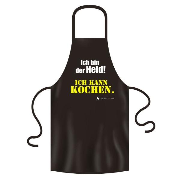 Original BBQ-Solutions Grill-Schürzen und Kochschürzen Ich bin der Held